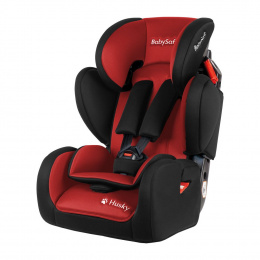 BABYSAFE Fotelik HUSKY 2020 Red-Black