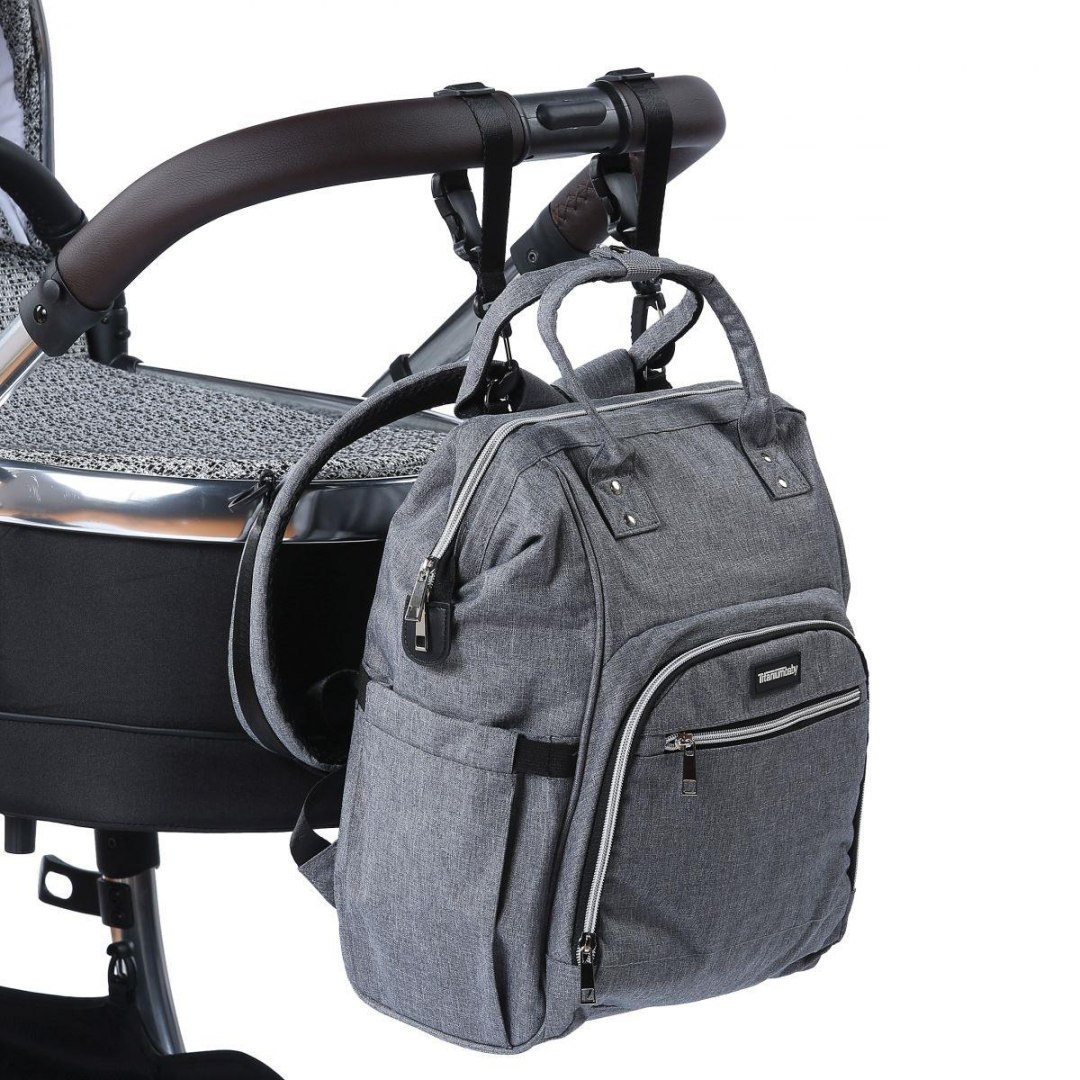 Plecak torba SPORTS MOMMY grey melange