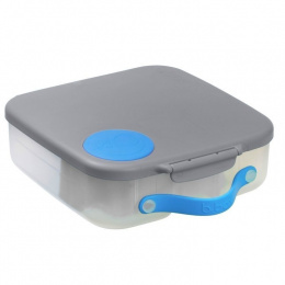 b.box Lunchbox Blue Slate